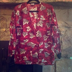 Tafford Other - Tafford Fall, Autumn, Leaves, Scrub Jacket size S